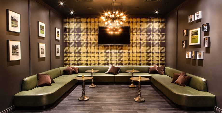 Upstairs Golf Lounge | Fairways Chicago